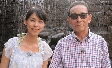 タモリと久保田佑佳画像