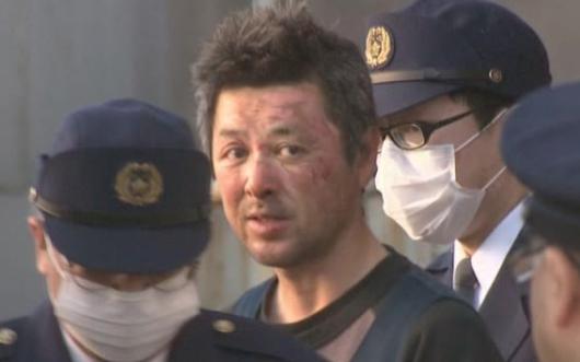 宮垣朗逮捕時画像