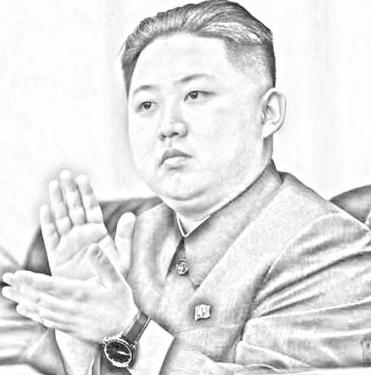 金正恩イラスト画像