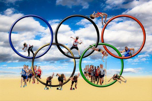 オリンピックエンブレム画像