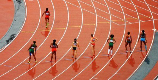オリンピック陸上画像